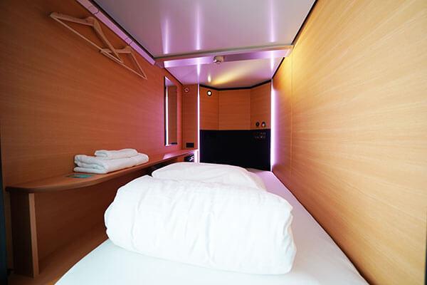 Single capsule room